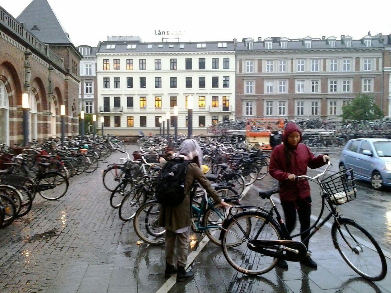 Analisis del ciclismo urbano en Copenhague, capital de Dinamarca