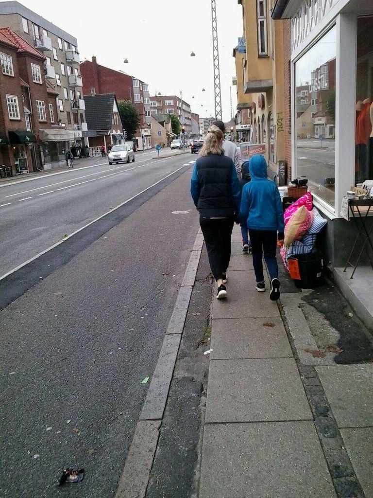 La distribución del espacio en Copenhague prima al coche contra el peatón