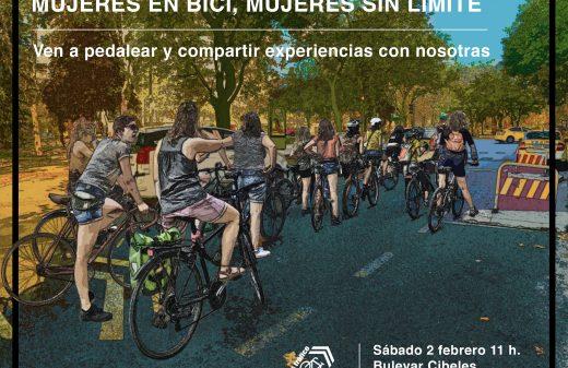 """II Encuentro """"Mujeres en bici. Mujeres sin límite:"""""""
