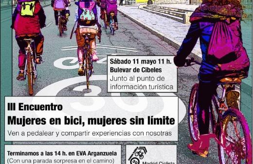 Mujeres en bici, mujeres sin límite