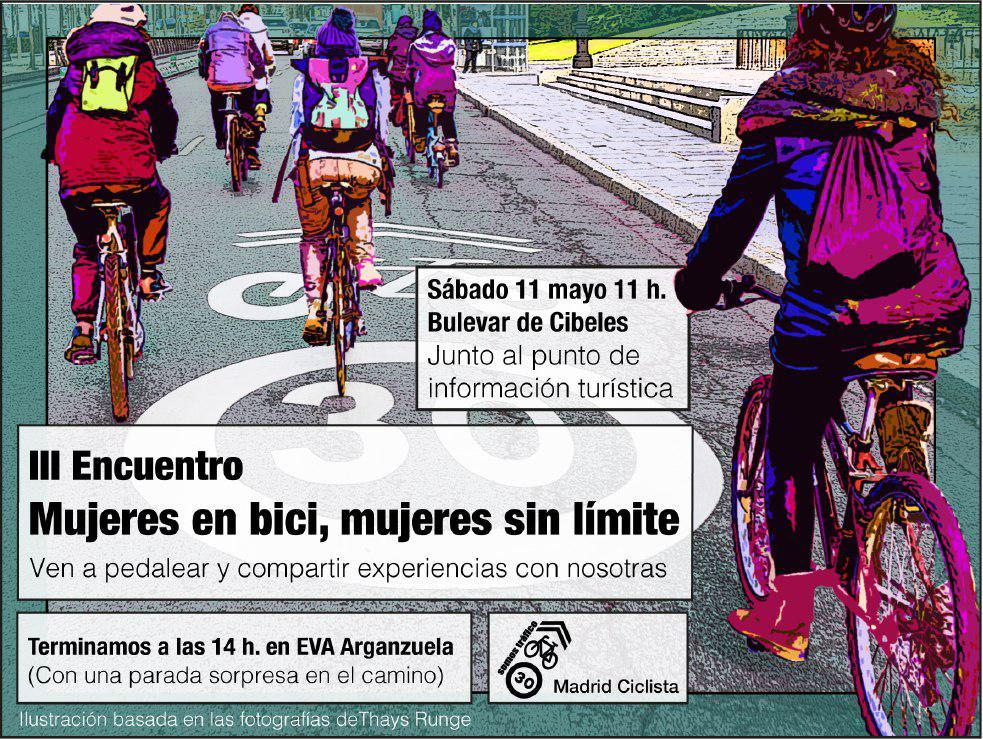Mujeres en bici. Mujeres sin límite.