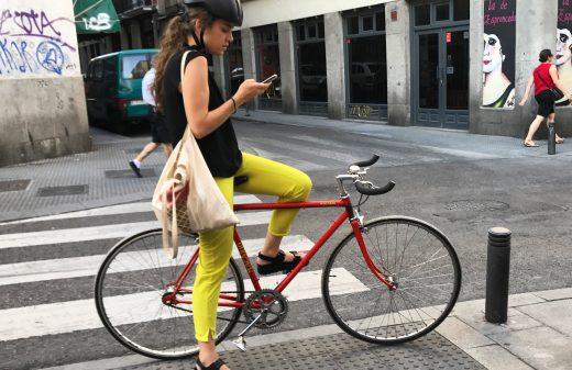 Consulta el mapa ciclista del metro de Madrid