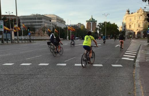 El modelo Madrid protege la salud de los ciclistas durante la pandemia de la Covid-19