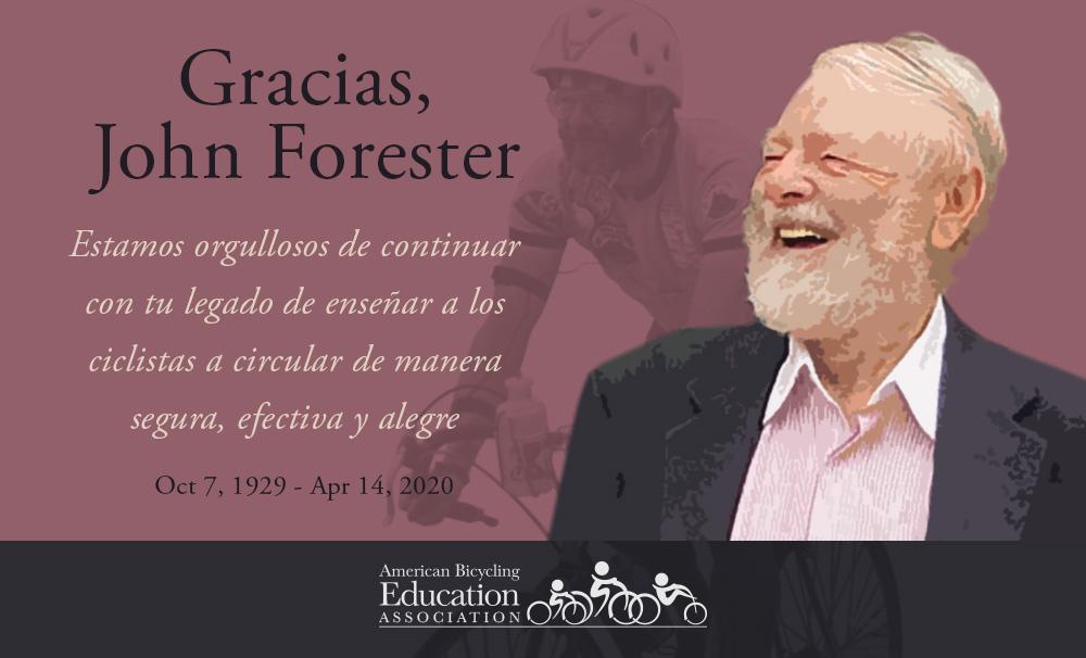 ¡Gracias John Forester!